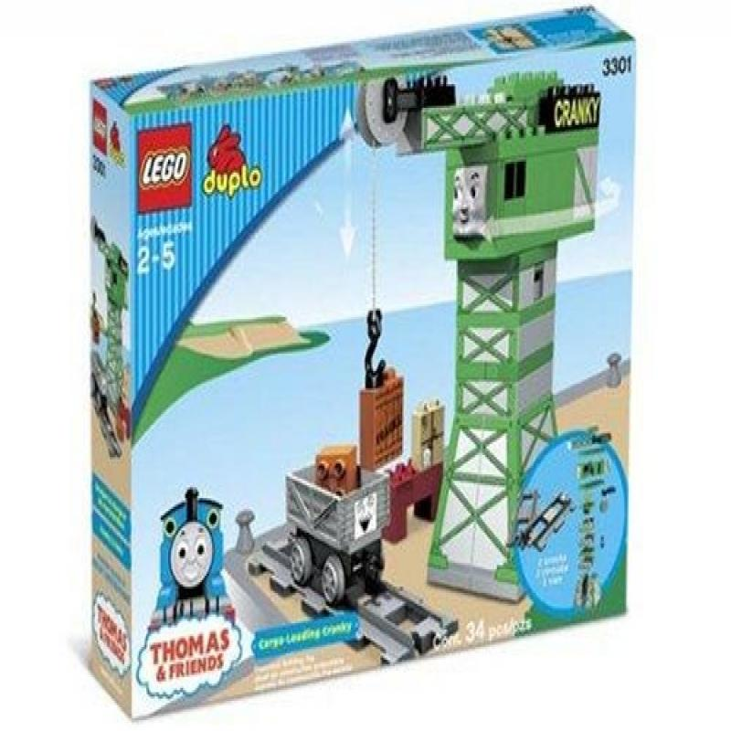 Lego Cargo Loading Cranky Play Set