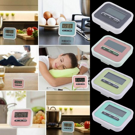 Fancyy Large LCD Digital Kitchen Cooking Timer Count-Down Up Clock Loud Alarm Green - image 9 of 12