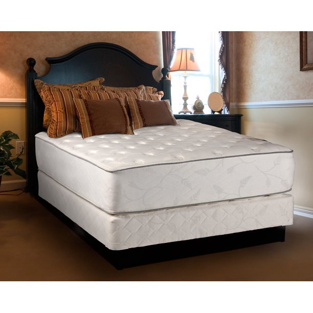 """Dream Solutions Exceptional Plush 12"""" Queen Mattress and Box"""