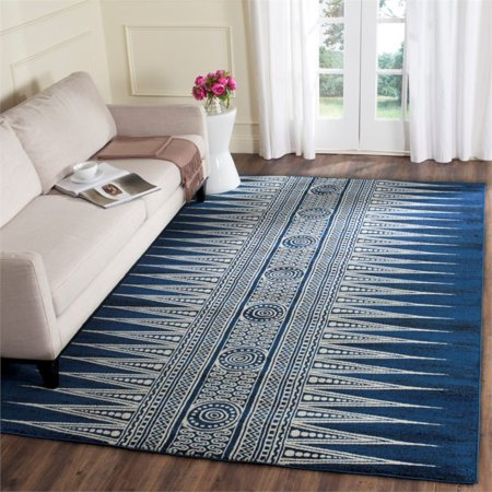 Safavieh Evoke 3' X 5' Power Loomed Rug in Royal and Ivory - image 4 of 8