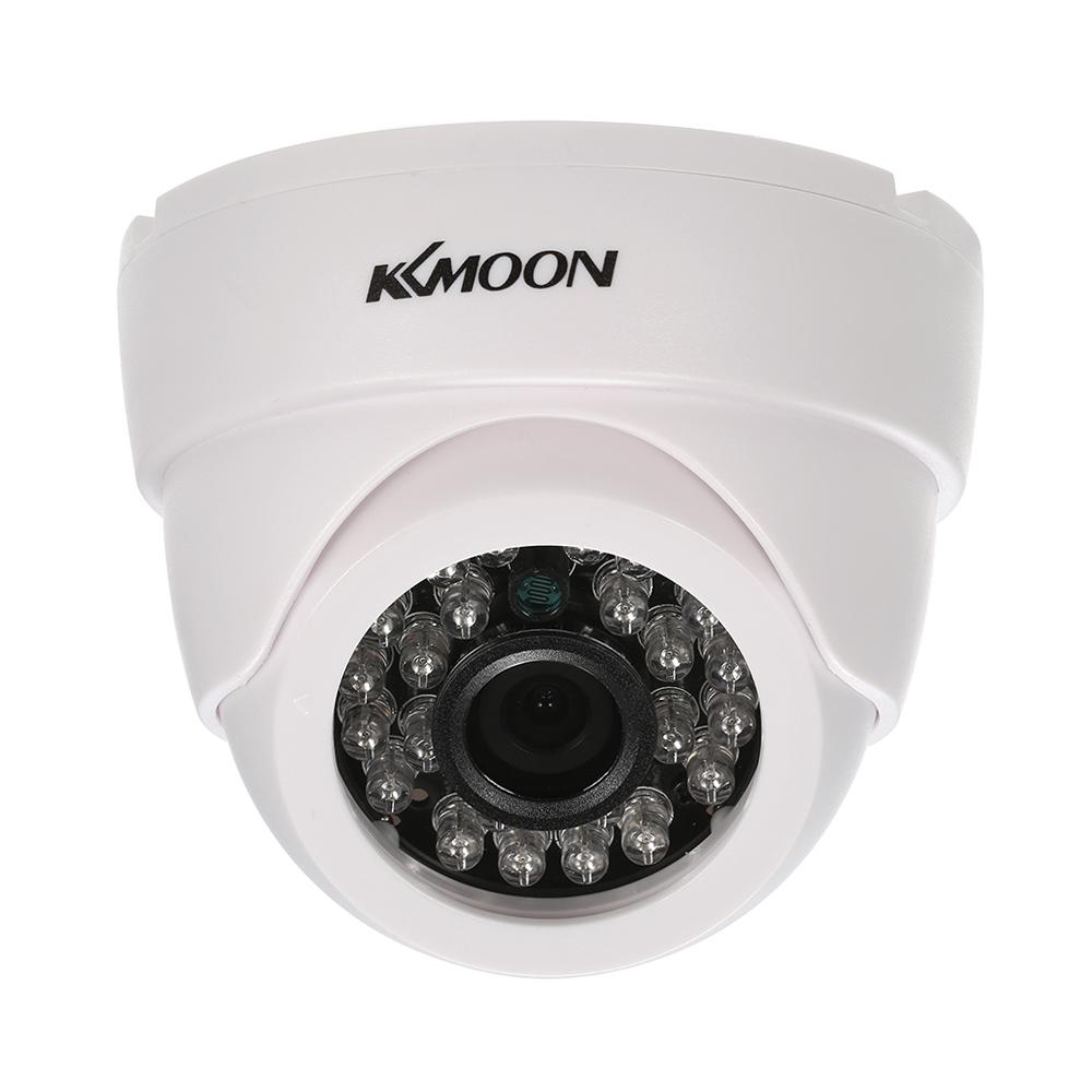 KKmoon 1080P AHD Dome CCTV AnalogCamera 3.6mm Lens 1/2.8'' CMOS 2.0MP IR-CUT 24pcs IR LEDS Night Vision for Home Security NTSC System