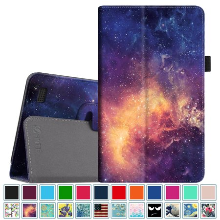 Fintie Folio Case For All New Amazon Fire 7 Tablet   7Th Gen  2017     Slim Fit Pu Leather Stand Cover  Galaxy