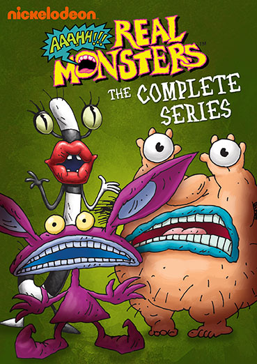 Aaahh Real Monsters The Complete Series Dvd Walmart Com Walmart Com