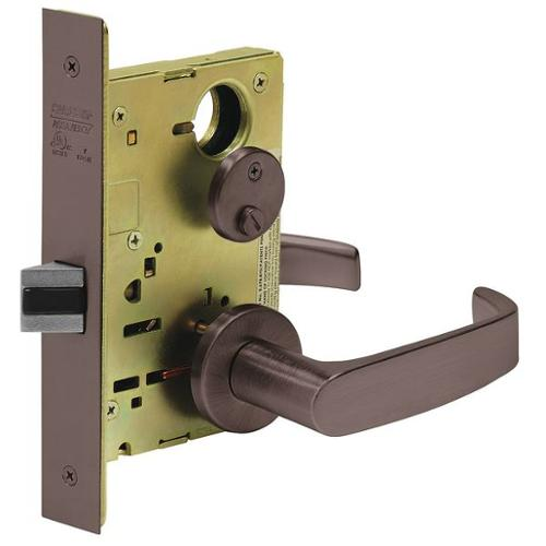 SARGENT 8265 LNL 10B Heavy Duty Mortise Lockset,Lever,Privacy