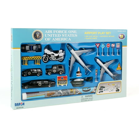 Daron Air Force One Die-Cast Playset, 20-Pieces