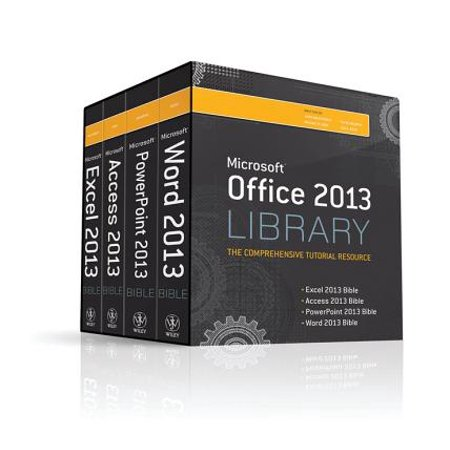 Microsoft Office 2013 Library : The Comprehensive Tutorial