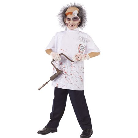 Doctor Killer Driller Teen Halloween Costume - One Size