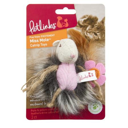 Petlinks Garden Miss Mole Catnip Cat Toy