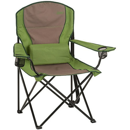 Coleman Oversized Quad Chair With Lumbar Support Green