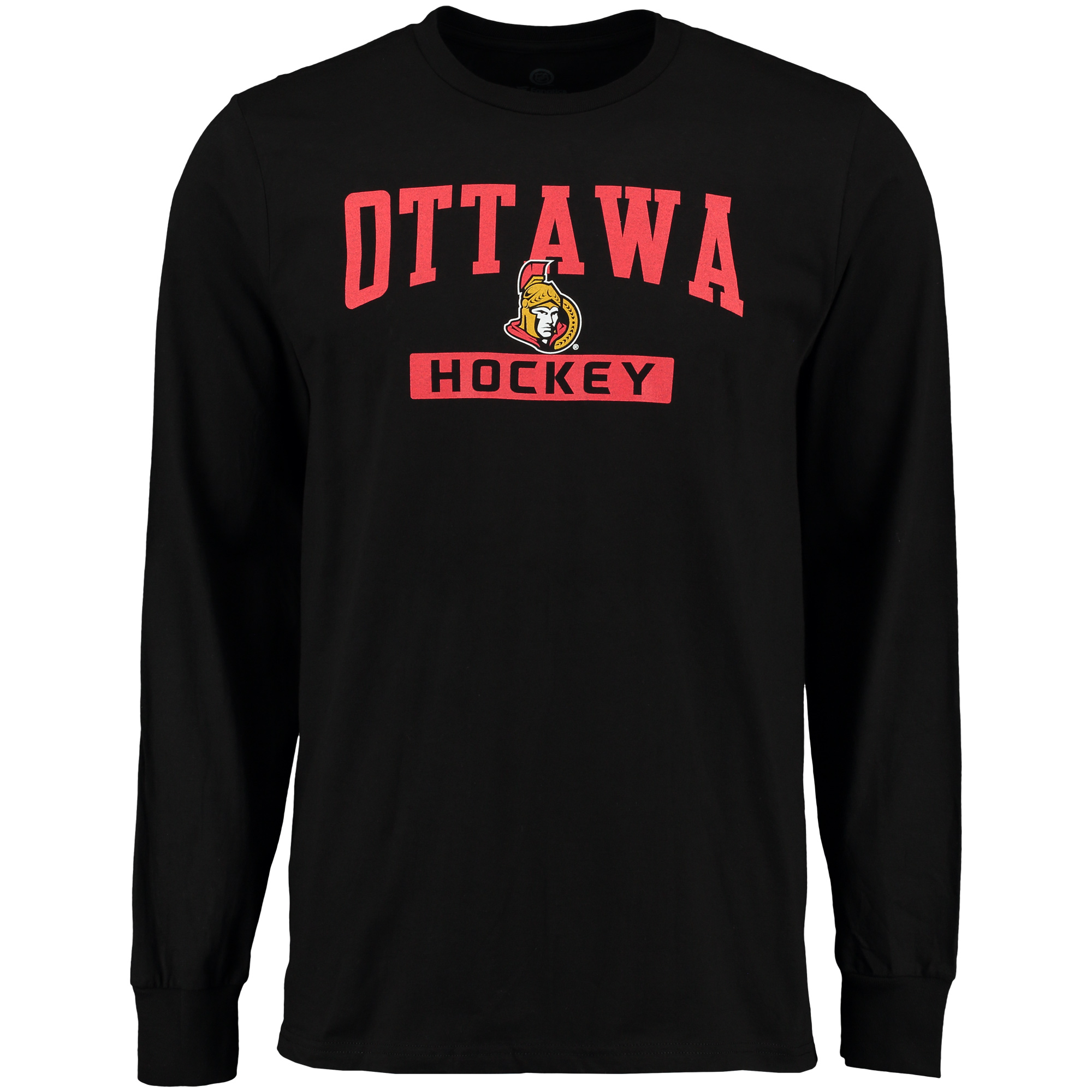 Ottawa Senators Rinkside City Pride Long Sleeve T-Shirt - Black