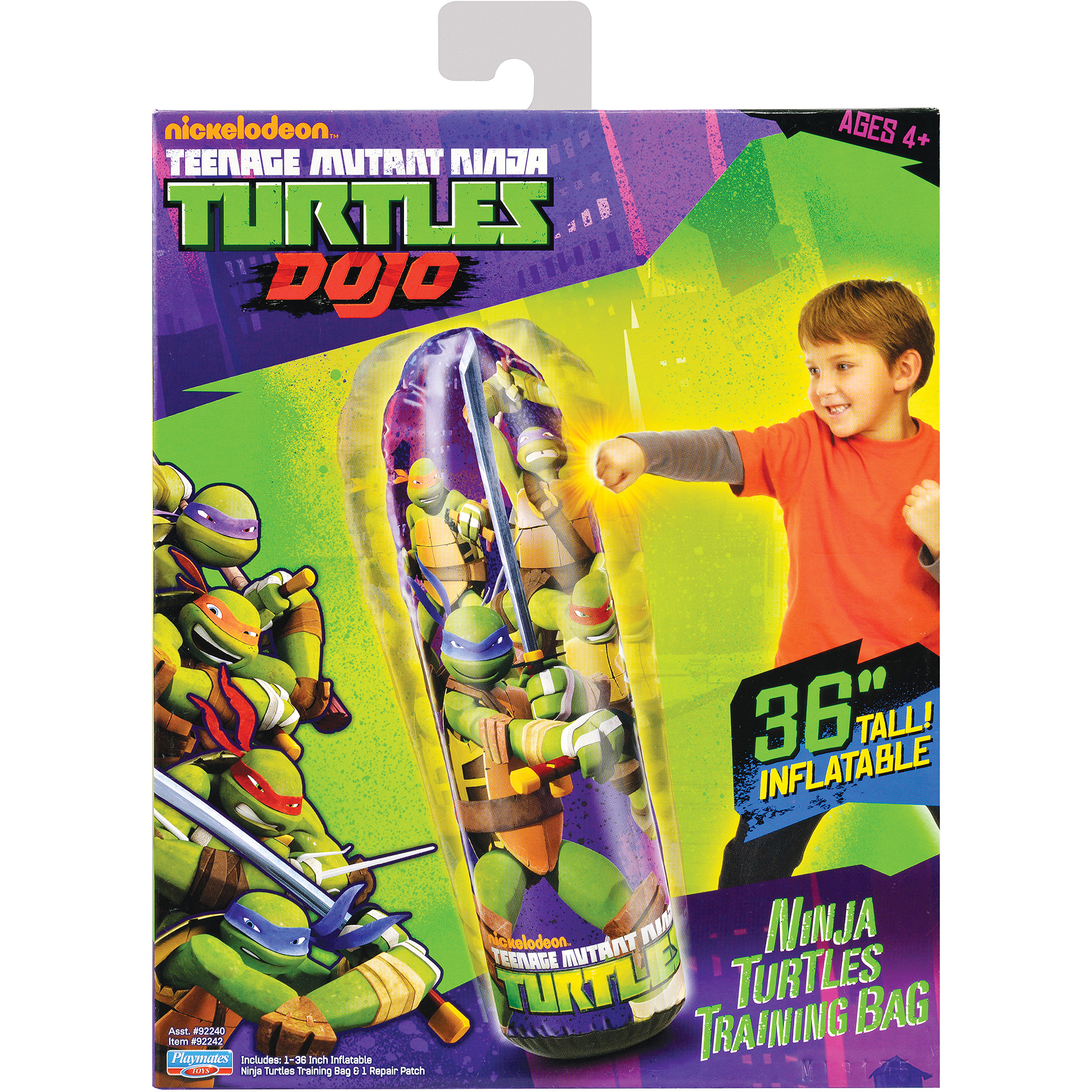 Teenage Mutant Ninja Turtles Inflatable Dojo Training Bag