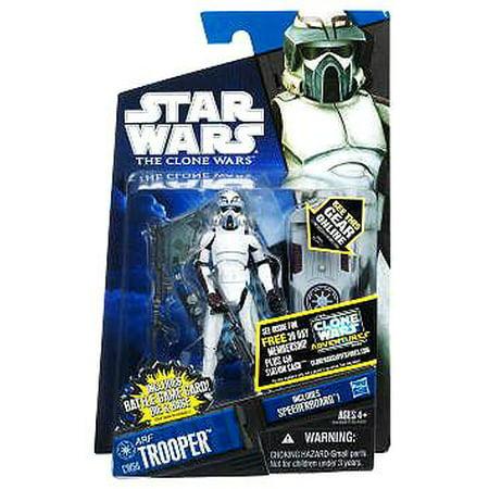 Star Wars Clone Wars 2011 ARF Trooper Action Figure [Kamino]