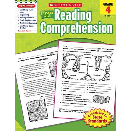 Reading Comprehension Halloween Activities (Scholastic Success with Reading Comprehension, Grade)
