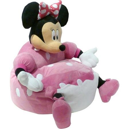 Disney Minnie Mouse Figural Bean Bag Chair