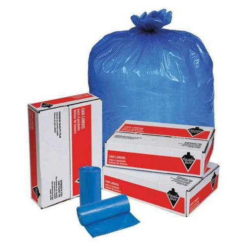 Tough Guy 31DL05 Blue Linear Low Density Polyethylene 40 to 45 gal. Trash Bag
