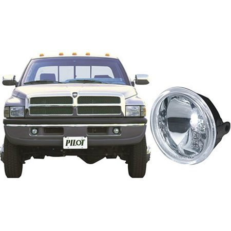 Pilot Performance Lighting Pl-114C Foglght Clear Ram 94-97