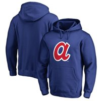Atlanta Braves Fanatics Branded Cooperstown Collection Huntington Pullover Hoodie - Royal