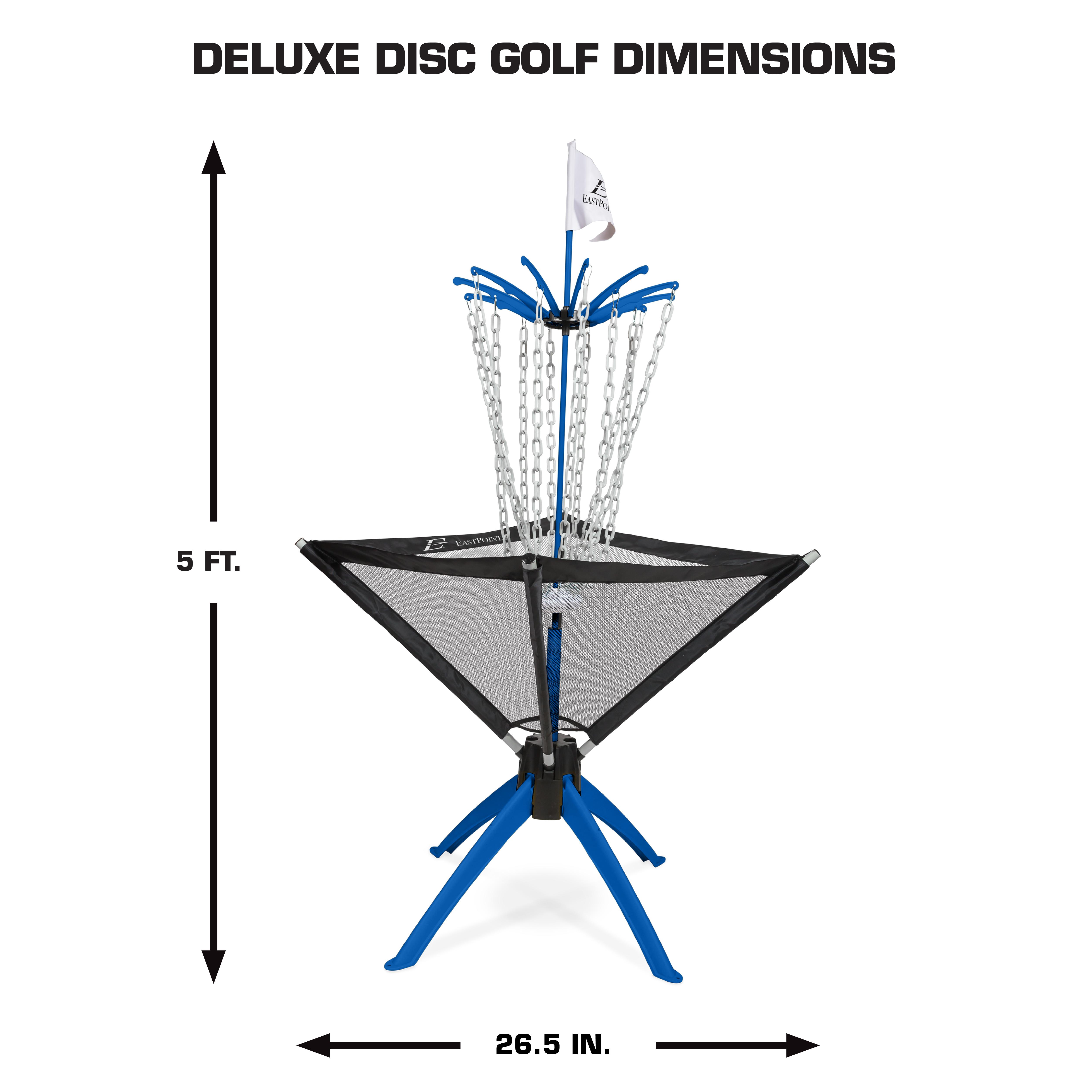 Eastpoint Sports Deluxe Disc Golf Set Walmart Com