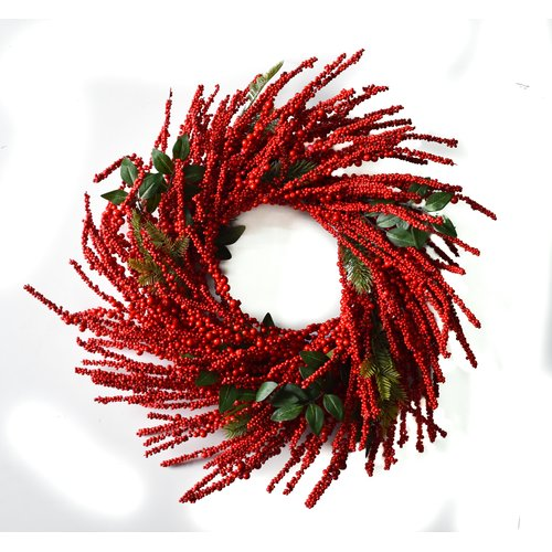Darby Home Co Berry Burst 28'' Wreath