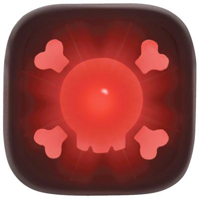 Knog Blinder Skull 1-LED Bicycle Tail Light - w/Red Light
