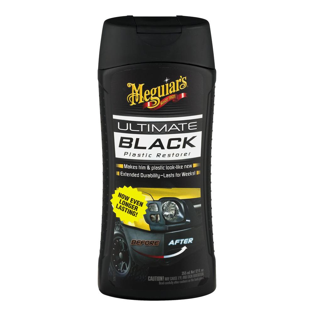 Meguiar's 12 Oz Ultimate Black Plastic Restorer (G15812)