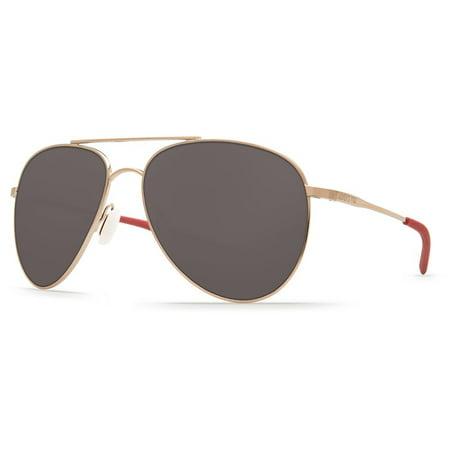 Costa Del Mar Cook COO 164 Rose Gold Sunglasses (Rose Del Mar)