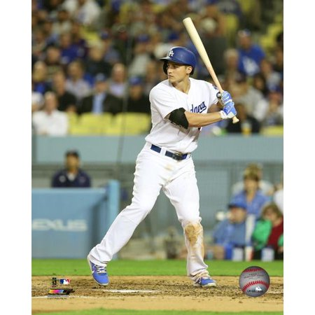 Corey Seager 2017 Action Photo Print
