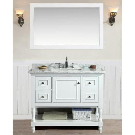 Ari Kitchen And Bath Cape Cod 42 In Single Bathroom