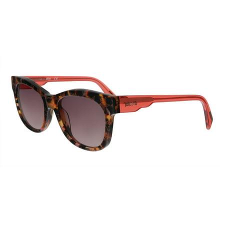Just Cavalli JC783S 55T Orange Havana Rectangular Sunglasses Orange Havana Sunglasses