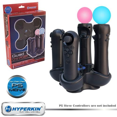 Hyperkin M05713 Quad Charger for Playstation 3 Move