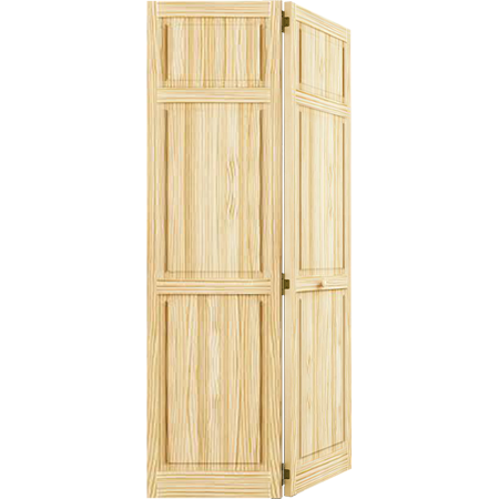 Closet Door Bi Fold Kimberly Bay Traditional Six Panel Clear 1 In