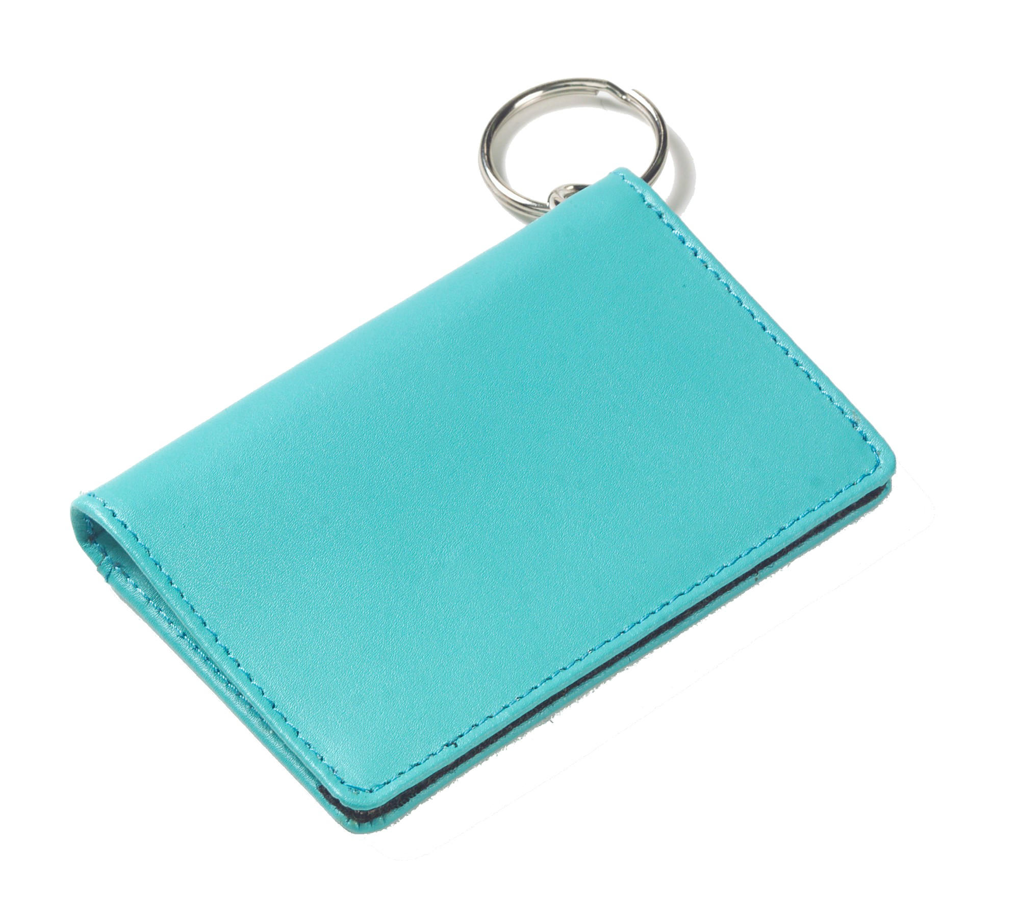 Clava Leather Colored Leather ID/ Key Chain Wallet