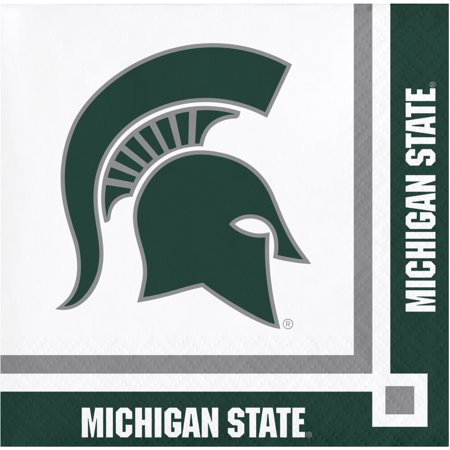 Michigan State University Beverage Napkins, 20 pk