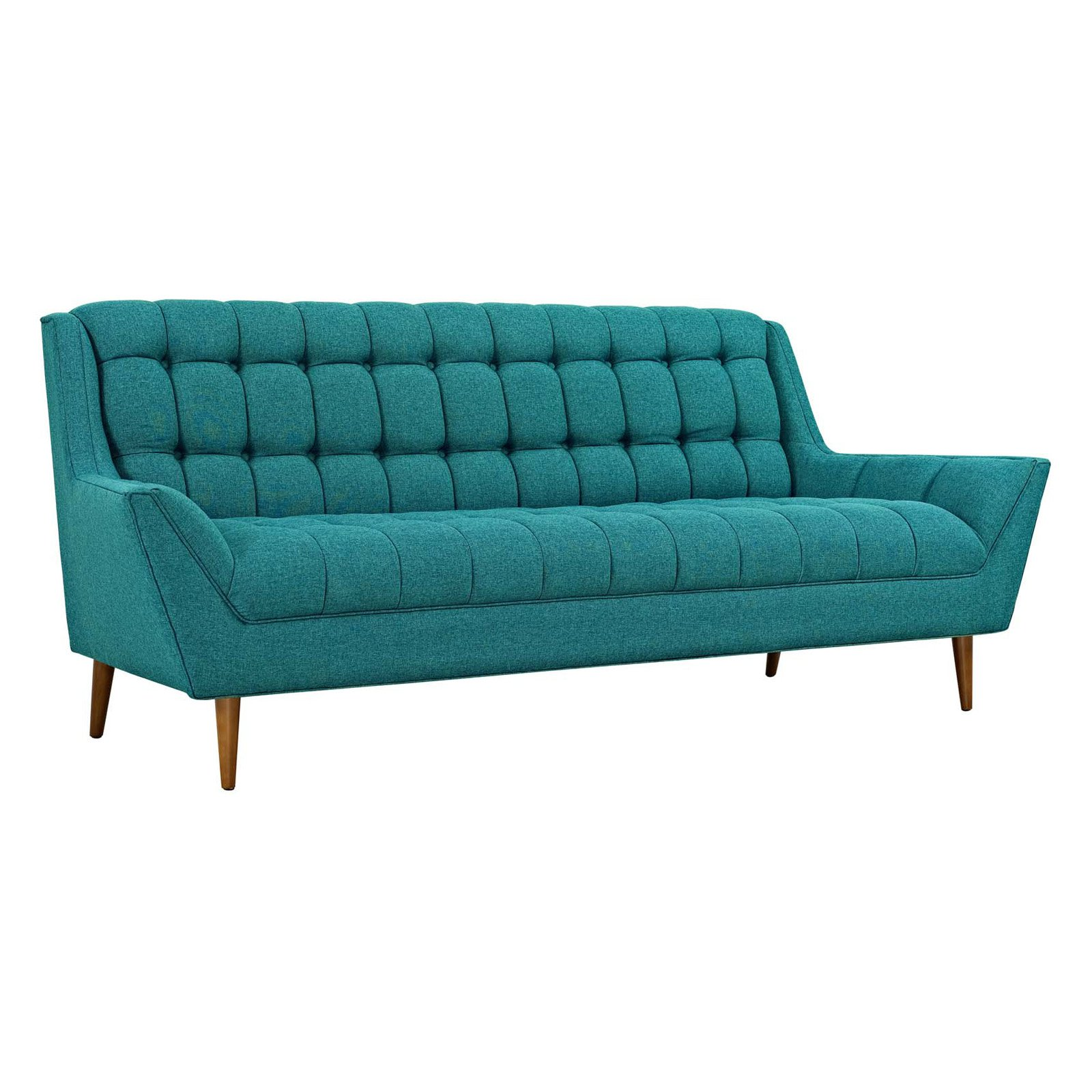 Modway Response Upholstered Fabric Sofa, Multiple Colors
