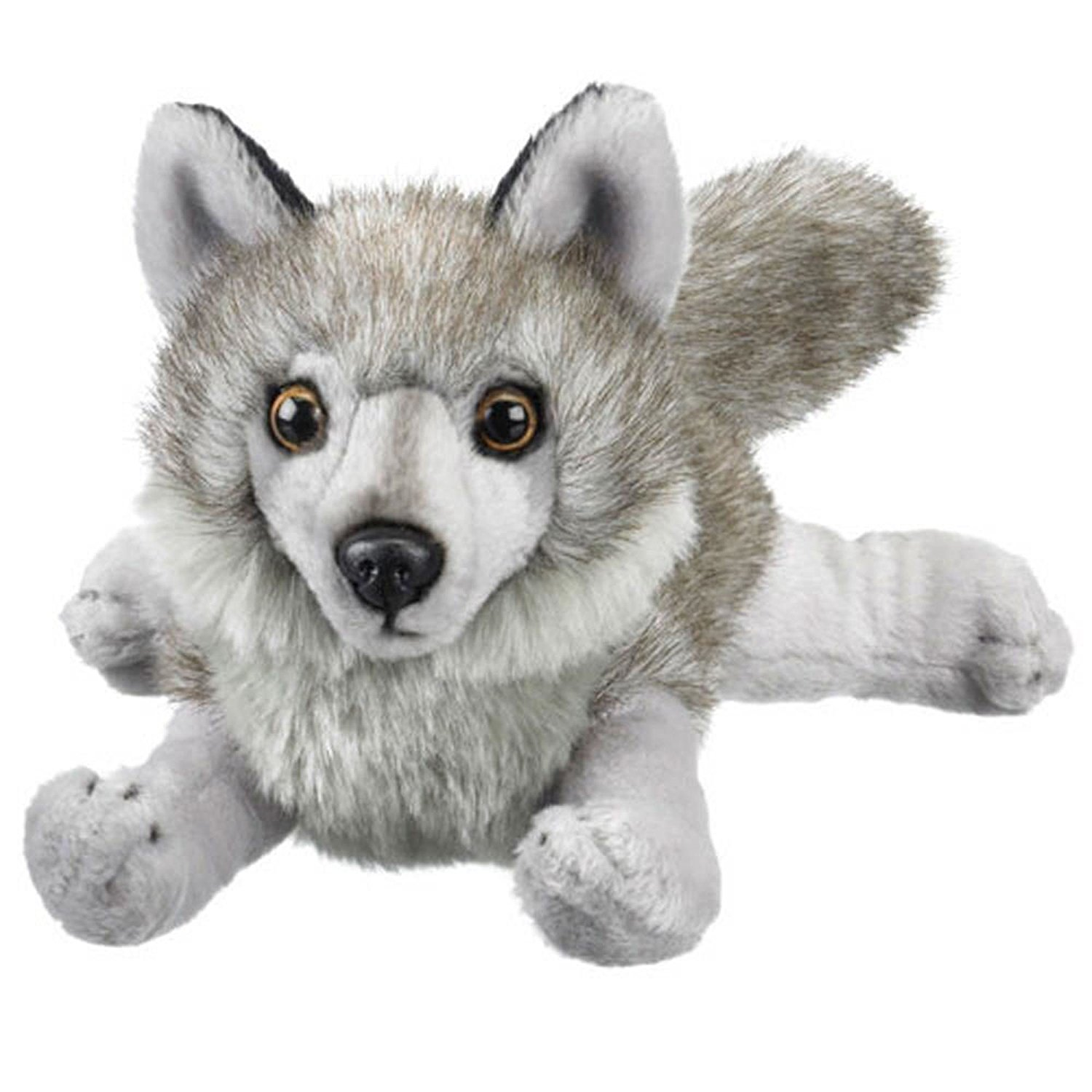 Gray Wolf Stuffed Animal Plush Toy 18 L Soft Squeezable Quality