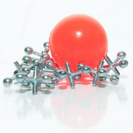 Metal Jacks With Ball - 12 sets per unit - Metal Jacks And Ball