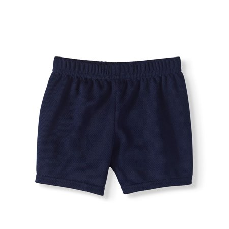 Baby Boy Mesh Shorts - Navy Blue Wedding