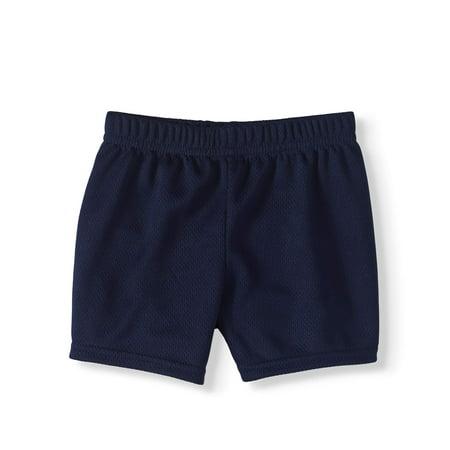 Blue Safari Baby Shower Ideas (Baby Boy Mesh Shorts)