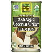 Native Forest Organic Cream Premium - Coconut , 5.4 FZ
