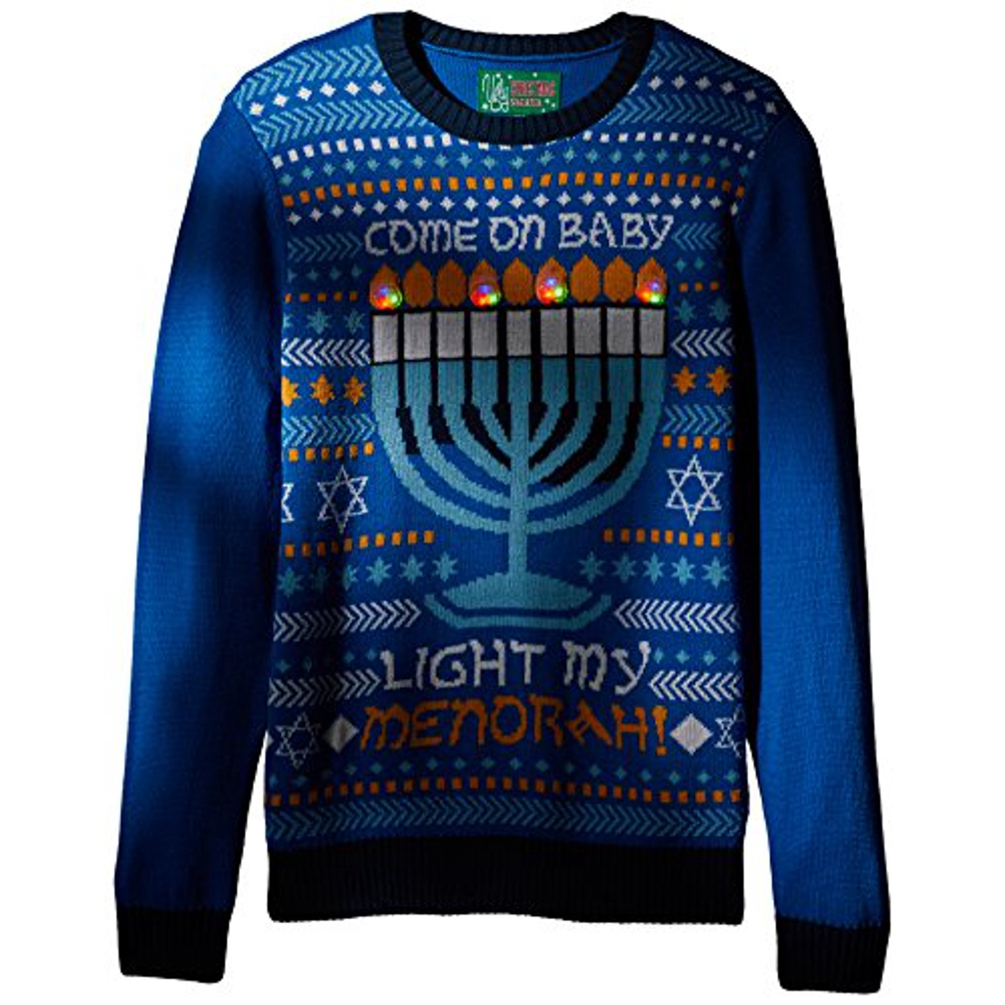 Ugly Christmas Sweater Company Men's Assorted Light Up Xmas