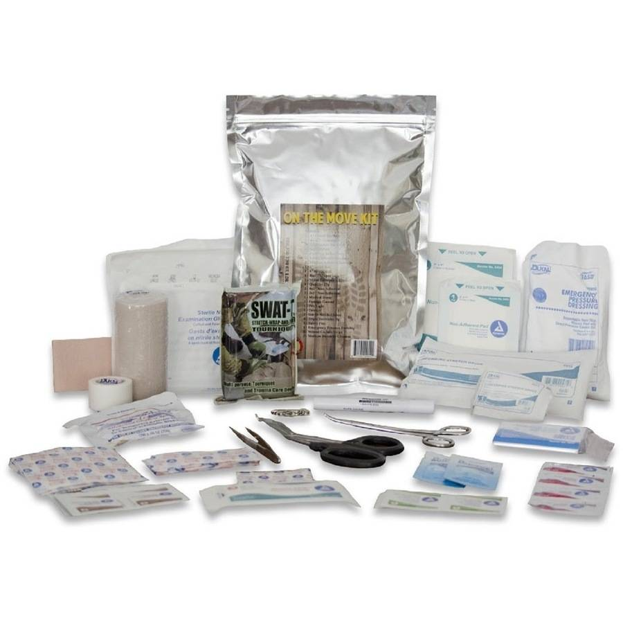 Survival Medical On The Move Kit by Survival Medical LLC