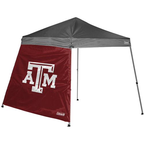 Coleman 10' x 10' Slant Leg Canopy Side Wall, Texas A&M Aggies