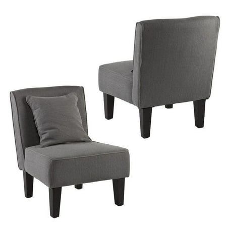 Holly Martin Purban Slipper Chair In Cool Gray Set Of 2