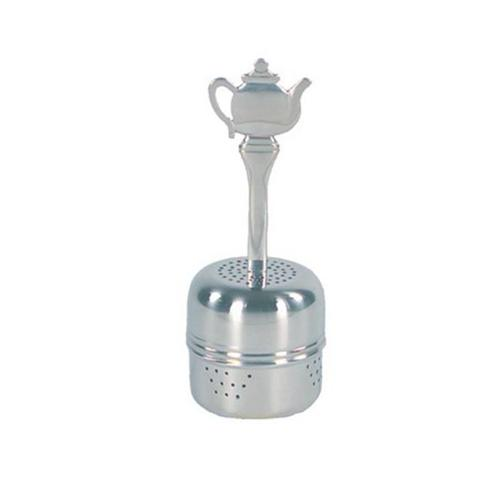 Fox Run Brands Stainless Steel 2tsp Tea Ball Infuser w  Decorative Teapot Handle by Fox Run