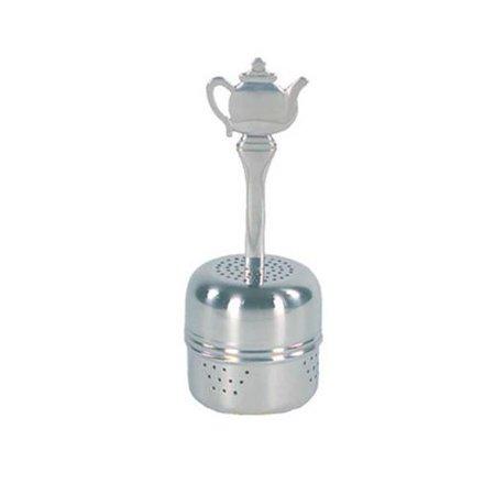 Fox Run Stainless Steel Infuser (Fox Run Brands Stainless Steel 2tsp Tea Ball Infuser w/ Decorative Teapot Handle)