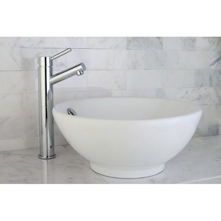 Kingston Br Round Vitreous China Vessel Sink