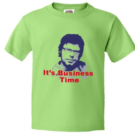 PleaseMeTeesTM Youth Its Business Time Flight The Conchords Murray HQ Tee