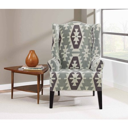 Sure Fit Stretch Kilim Wing Chair Slipcover