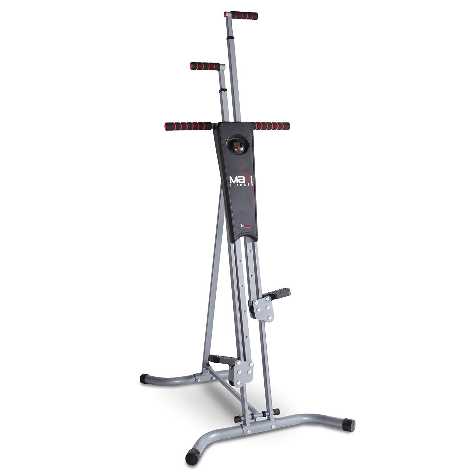 MaxiClimber Total Body Workout Home Gym Exercise Equipment, Vertical Climber