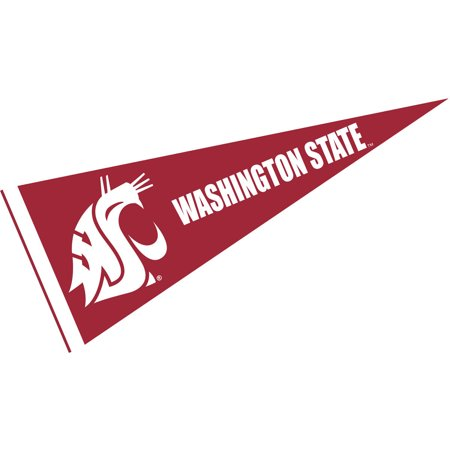 30 Felt Pennants - Washington State Cougars Crimson 12
